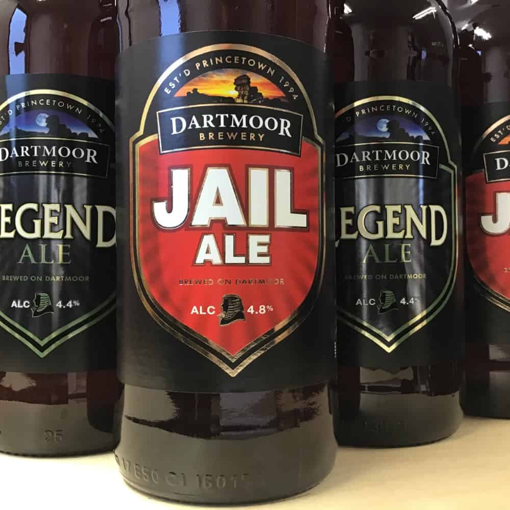 Dartmoor Brewery beer bottles