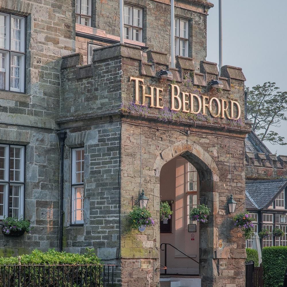 The Bedford Hotel Tavistock - front entrance